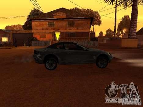 Maserati Granturismo S for GTA San Andreas left view