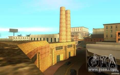 New textures in Los Santos for GTA San Andreas forth screenshot