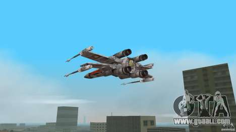 X-Wing Skimmer for GTA Vice City left view