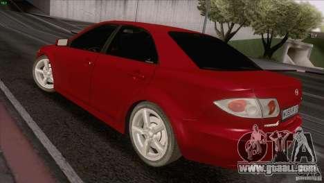 Mazda 6 2006 for GTA San Andreas back view