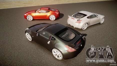 Nissan 370Z for GTA 4 upper view