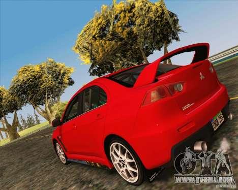 NFS The Run ENBSeries by Sankalol for GTA San Andreas third screenshot