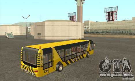 Bus To The Airport for GTA San Andreas right view