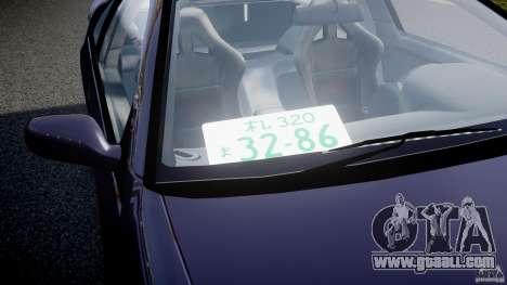 Nissan 300zx Fairlady Z32 for GTA 4 bottom view