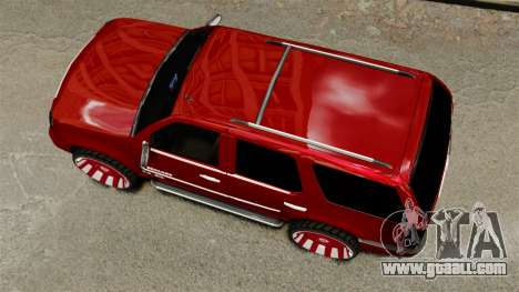 Cadillac Escalade 2011 DUB for GTA 4 right view