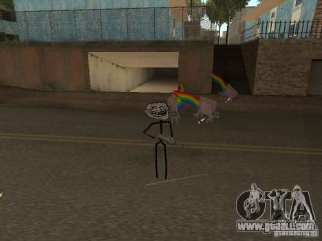 Meme Ivasion Mod for GTA San Andreas second screenshot