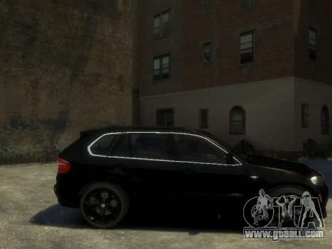 BMW X5 for GTA 4 left view