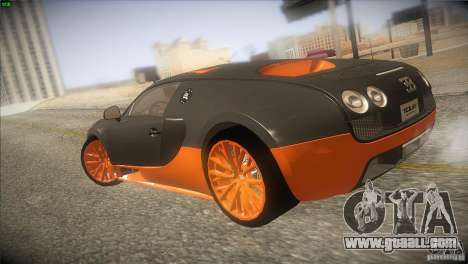 Bugatti Veyron Super Sport for GTA San Andreas right view