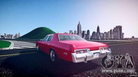 Dodge Monaco 1974 for GTA 4 side view