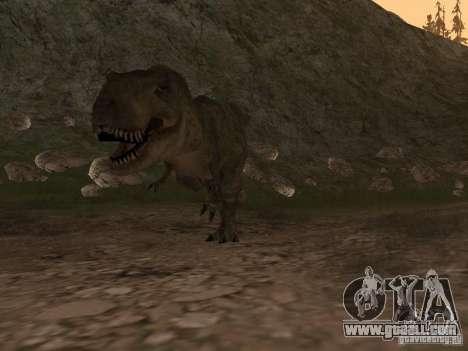Dinosaurs Attack mod for GTA San Andreas third screenshot
