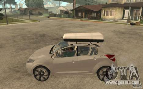 Renault Megane III for GTA San Andreas left view