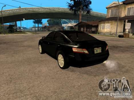 Toyota Camry 2010 for GTA San Andreas left view