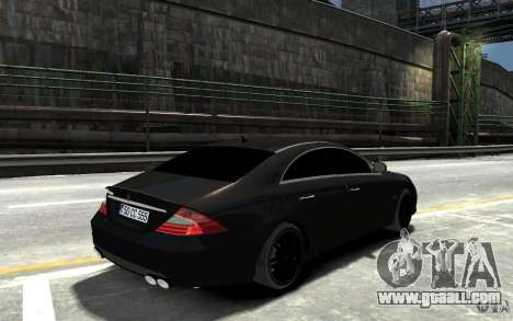 Mercedes Benz CLS Brabus Rocket 2008 for GTA 4 right view