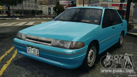 Mercury Tracer 1993 v1.1 for GTA 4