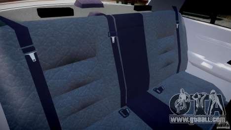 Ford Crown Victoria New Jersey State Police for GTA 4 inner view