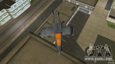 X-304 Gunship for GTA Vice City left view