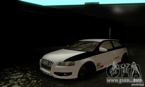 Audi S3 for GTA San Andreas interior