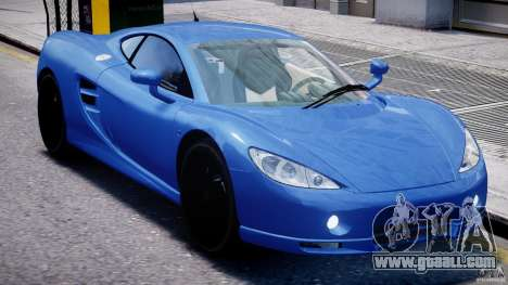 Ascari KZ-1 for GTA 4 upper view
