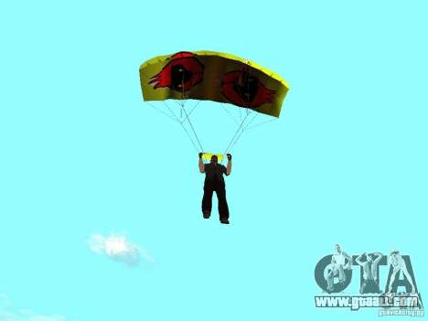 The parachute with the Omsk bird for GTA San Andreas second screenshot