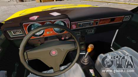 Gaz-3102 taxi for GTA 4 inner view