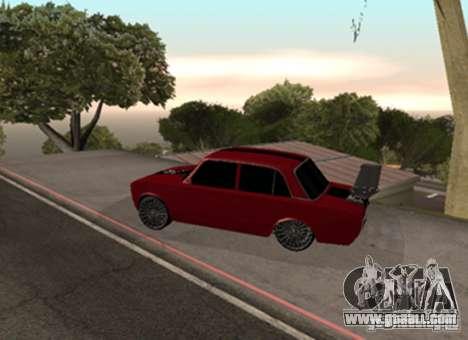 VAZ 2101 Drag for GTA San Andreas right view