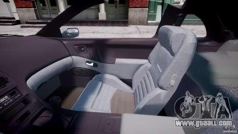 Nissan 300 ZX 1994 v1.0 for GTA 4 inner view