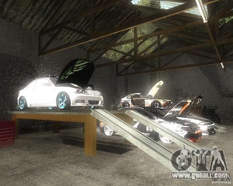 BMW 135i Hella Drift for GTA San Andreas side view