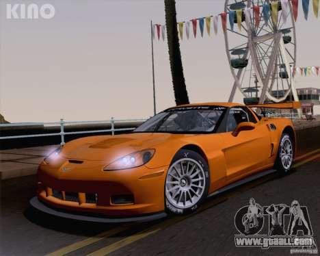 Chevrolet Corvette C6 Z06R GT3 v1.0.1 for GTA San Andreas interior