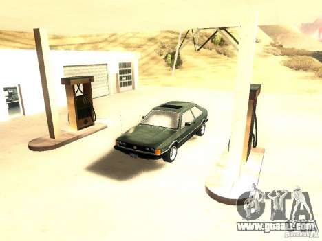 Volkswagen Scirocco Mk1 for GTA San Andreas right view