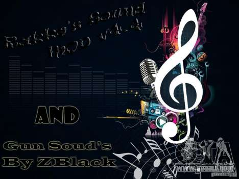 Rakkos Sound Mod v4.4 for GTA San Andreas