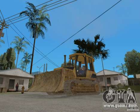 Bulldozer from COD 4 MW for GTA San Andreas right view