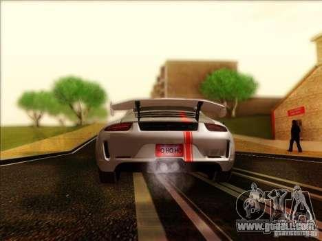 Porsche 911 Carrera S (991) Snowflake 2.0 for GTA San Andreas right view