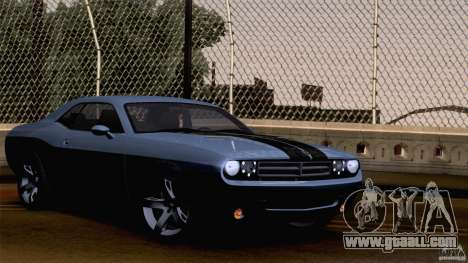 Dodge Challenger SRT8 for GTA San Andreas engine