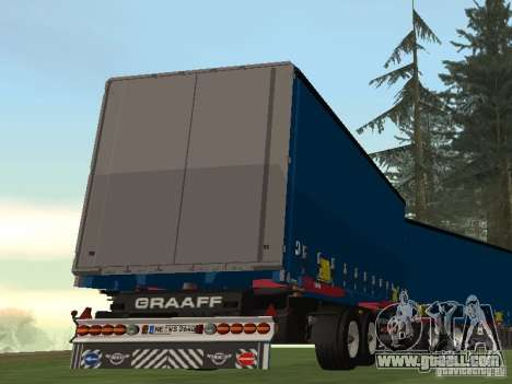 Trailer Renault Premium for GTA San Andreas left view