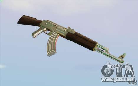 Low Chrome Weapon Pack for GTA San Andreas seventh screenshot