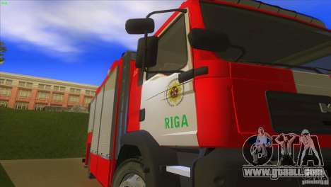 MAn TGL Riga FC for GTA San Andreas back view
