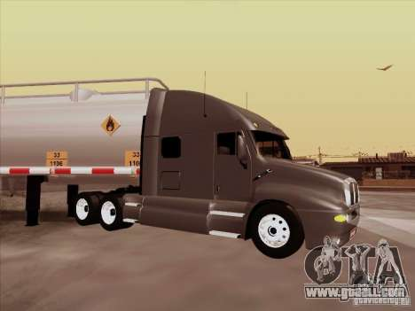 Kenworth T2000 for GTA San Andreas back left view