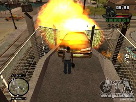 Explosive C4 for GTA San Andreas forth screenshot