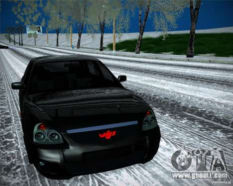 Lada Priora Vip Style for GTA San Andreas right view