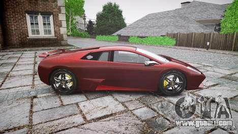 Lamborghini Murcielago v1.0b for GTA 4 left view