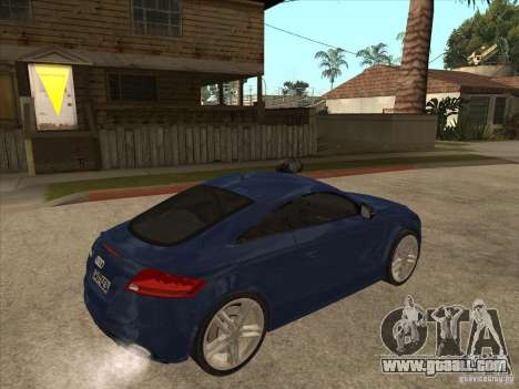 Audi TT RS 2010 for GTA San Andreas right view
