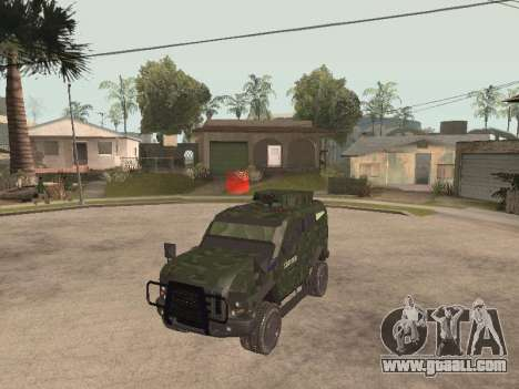 Oshkosh SandCat of Mexican Army for GTA San Andreas