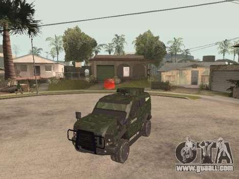 Oshkosh SandCat of Mexican Army for GTA San Andreas