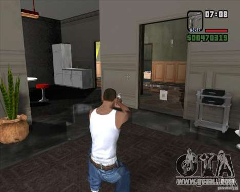 Colt 45 for GTA San Andreas third screenshot