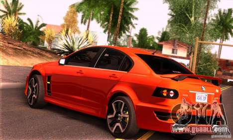 Holden HSV GTS for GTA San Andreas right view