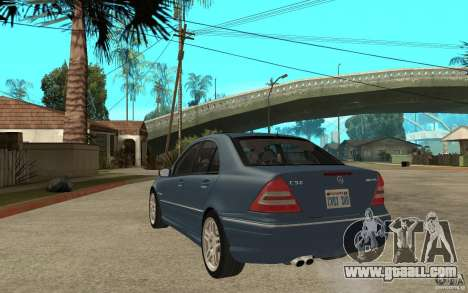 Mercedes-Benz C32 AMG 2003 for GTA San Andreas back left view
