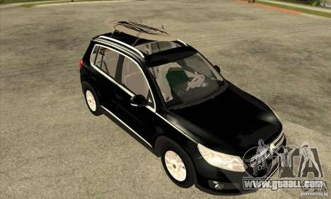Volkswagen Tiguan 2.0 TDI 2012 for GTA San Andreas side view