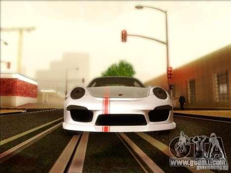Porsche 911 Carrera S (991) Snowflake 2.0 for GTA San Andreas inner view