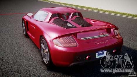 Porsche Carrera GT [EPM] for GTA 4 back left view