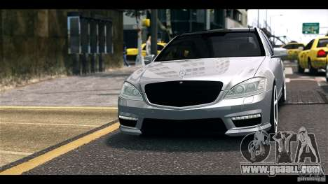 Mercedes-Benz S65 W221 AMG Vossen for GTA 4 back left view